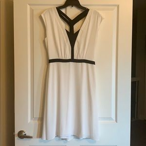 BCBG MaxAzria Black/white dress NWT